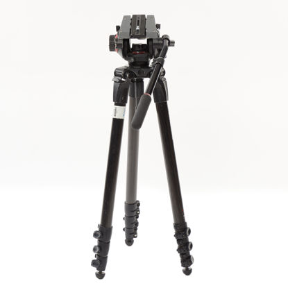 Picture of Manfrotto Video Tripod 535 Carbin fiber w/ 504 Head