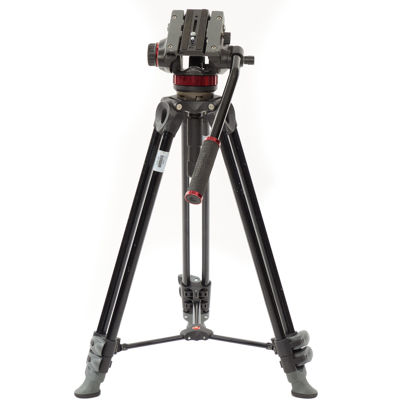 Picture of Manfrotto Compact Video Tripod w/Head MVH502A & MVT502AM