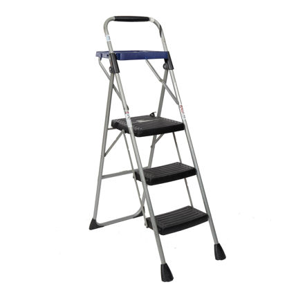 """Picture of Three Step Ladder 32"""""""