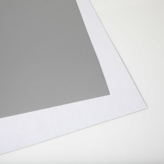 Picture of 28 X 44 Show card Matte Silver / White