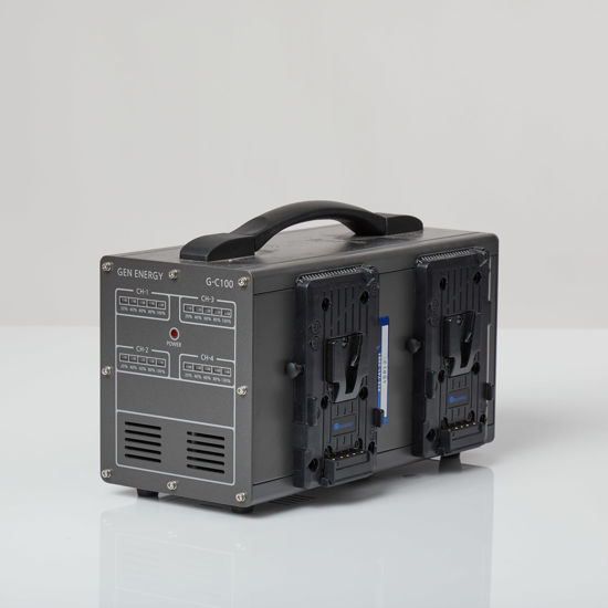 Picture of Quad Charger for  V mount Gen-Energy