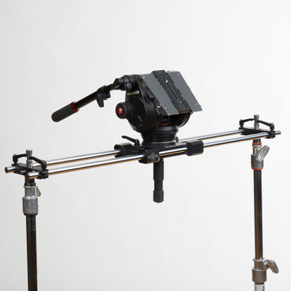 "Picture of Cinevate Atlas 30 Slider 35""  w/ Outrigger feet"