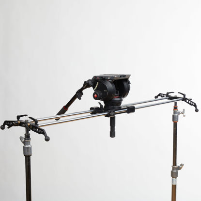 "Picture of Cinevate Atlas 30 Slider 47""  w/ Outrigger feet"