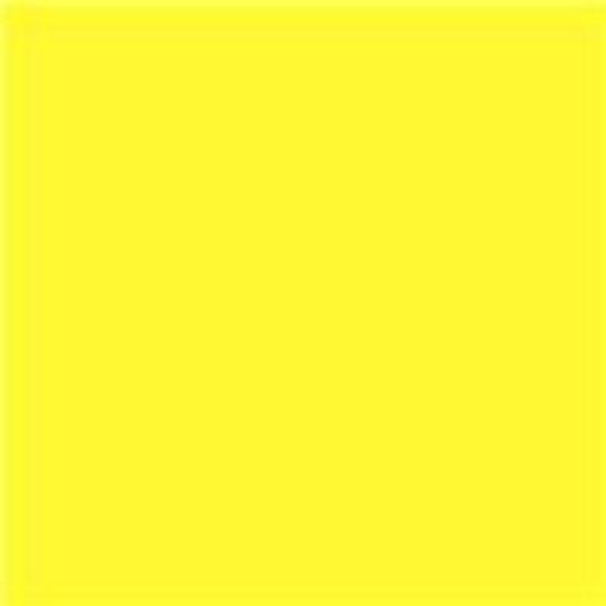Picture of 20 X 24 Rosco  Primary Yellow 312
