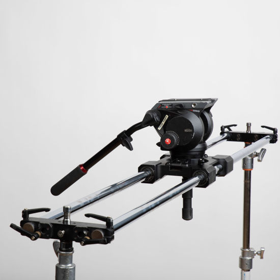 """Picture of Cinevate Atlas 200 Slider 60""""  w/ Outrigger feet"""