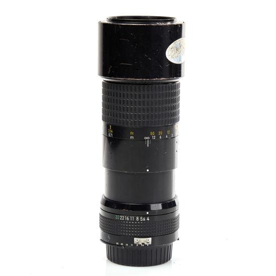 Picture of Nikon 200mm F4.0 Micro Lens Manual Focus