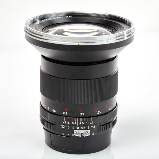 Picture of Zeiss ZF 21mm 2.8 Nikon mount lens
