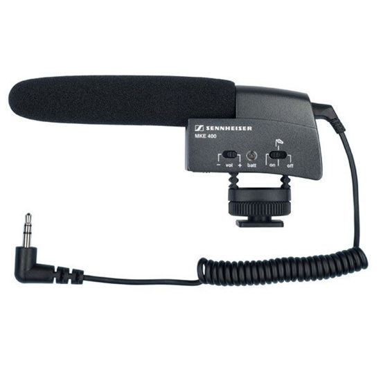 Picture of Sennheiser MKE 400 Microphone (on camera)