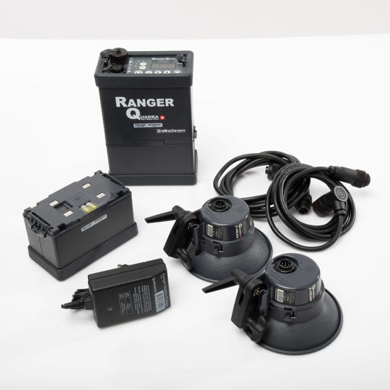 Picture of Elinchrome Ranger Quadra 2 head kit