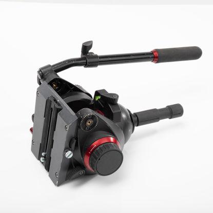 Picture of Bogen 509HD Pro Fluid Head w/QR (cap. 18.7 lbs) 100mm ball