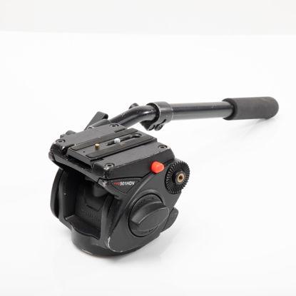 Picture of Bogen 501HDV Pro Fluid Head w/QR (cap. 13.2 lbs)