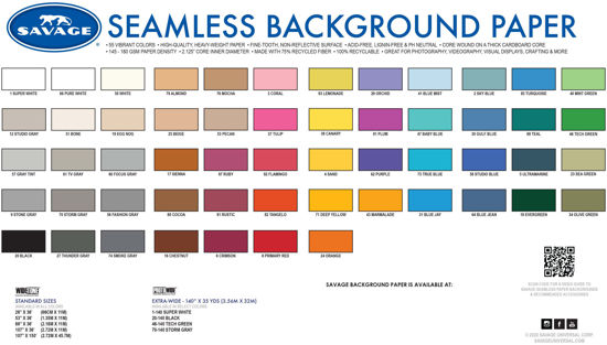 Picture of Seamless Color Chart  Free PDF download