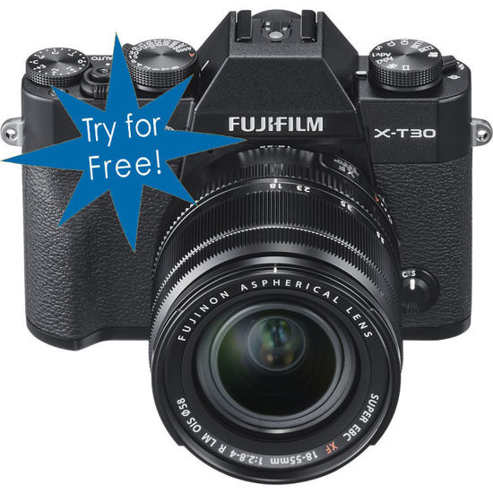 Picture of Fuji X-T30 Digital Camera with 18-55mm lens