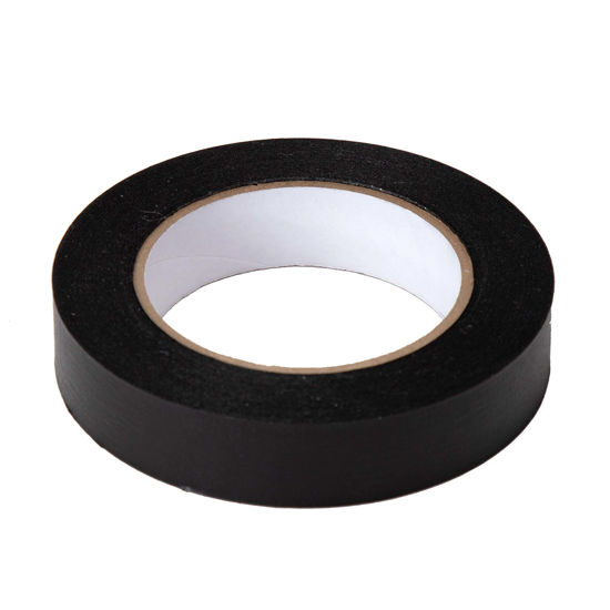 """Picture of 1"""" Black  Paper tape"""