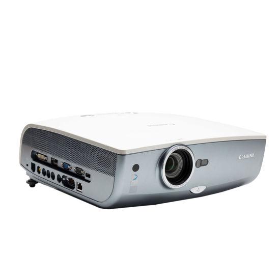 Picture of Canon SX80 mkII LCD Projector (3000 Lumens) 1080P HDMI DVI VGA Svideo