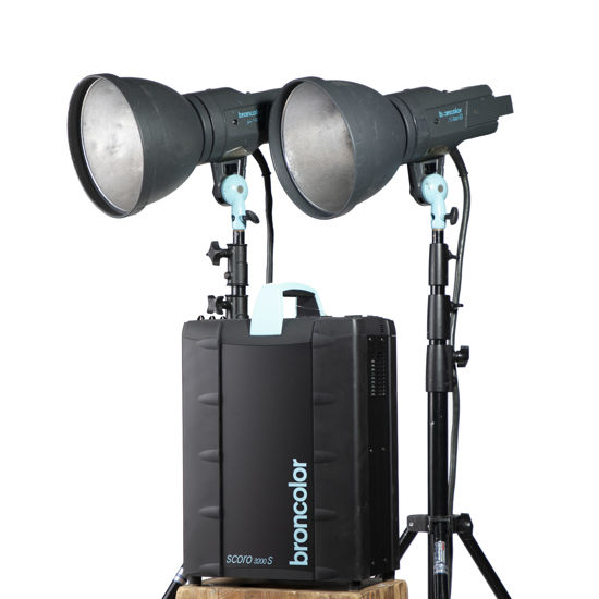 Picture of Broncolor Scoro A4S Two head kit