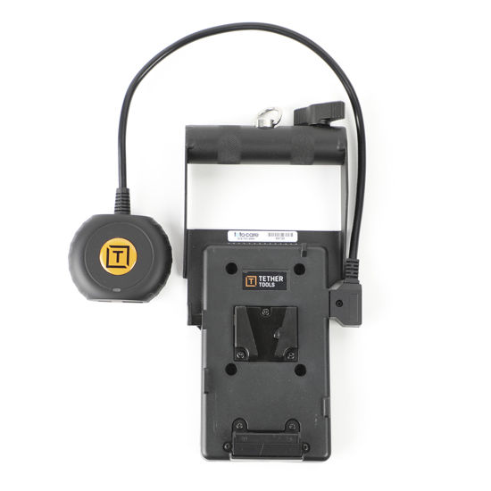 Picture of Tether Tools - On Site Power Adapter V Mount - USB C  to power Laptop